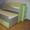 детская кровать двухуровневая раздвижная #987504