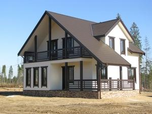 Производство и строительство каркасных домов. Ляховичи - Изображение #1, Объявление #1685698