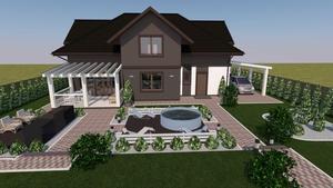 Дизайн и проектирование помещений и фасадов зданий, ладшафтный дизайн - Изображение #3, Объявление #1688962