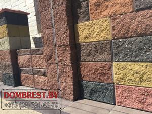 Демлер в Бресте, блоки для забора рваный камень  - Изображение #2, Объявление #1279375