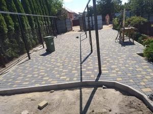 Услуги по кладке тротуарной плитки - Изображение #1, Объявление #1700124