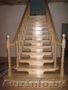 Изготовление лестниц из сосны,  дуба