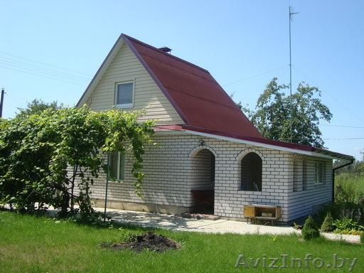 Садовый дом из кирпича