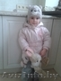 зимняя куртка  и комбинезон с шапочкой для девочки до 2 лет