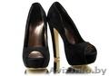 Новые черные туфли на платформе 37 размера