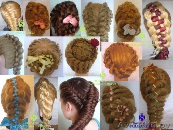 Прически из кос простые для детей