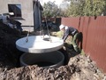 Комплекс работ по монтажу систем наружной канализации из бетонных колец